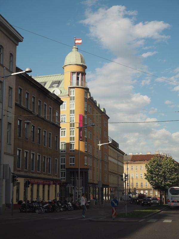Das Mercure Wien Westbahnhof ...