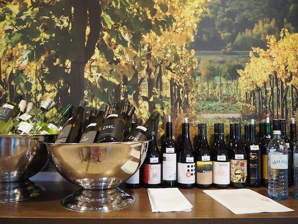 "… spoilt for choice? Aber echt! Genuss bei der diesjährigen Weinverkostung ""Grands Vins Mercure""."