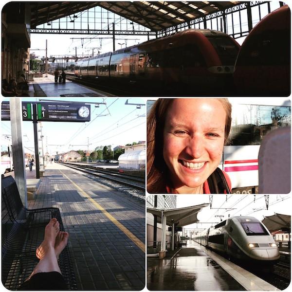 Für Zugreisen wie diese bin ich zu haben: TGVs sind einfach das beste Verkehrsmittel, um in Frankreich voranzukommen.
