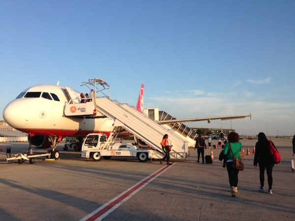 … oder Flugzeug ...