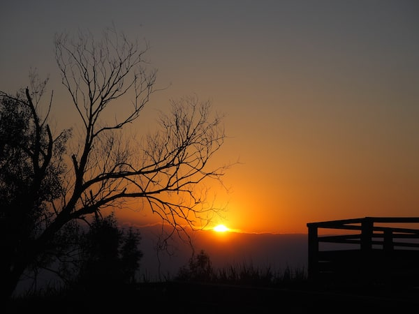 Der Sonnenuntergang ist hier am Atlantik auch immer besonders schön … Zum Dahinschmelzen - und Wegträumen ..!
