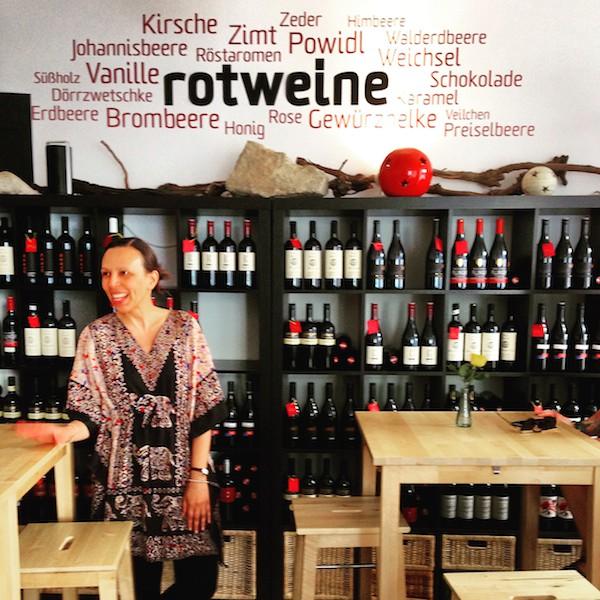 Und ich erst, angekommen bei den #Winelover von Wien …!