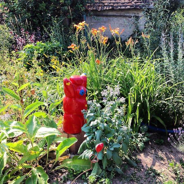 Zu Besuch im Garten von Ulrike ...