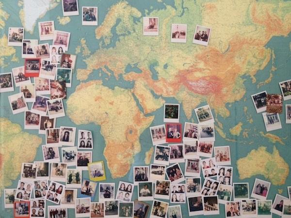 Zurück im Office der beiden Jungs von #PolaWalk entdecken wir noch mehr Begeisterung vieler Wien-Besucher - via Polaroid ...
