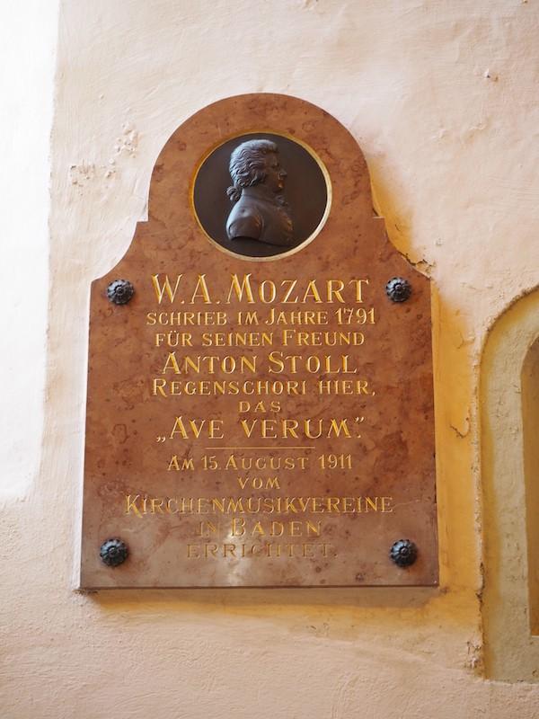... auf den Spuren von Mozart ...