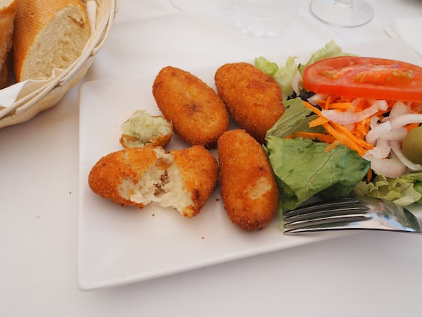 Love my croquettes !!!