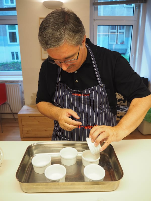 Toll, den eigenen Papa zum Kochen & Anrichten inspiriert zu sehen !!! :D