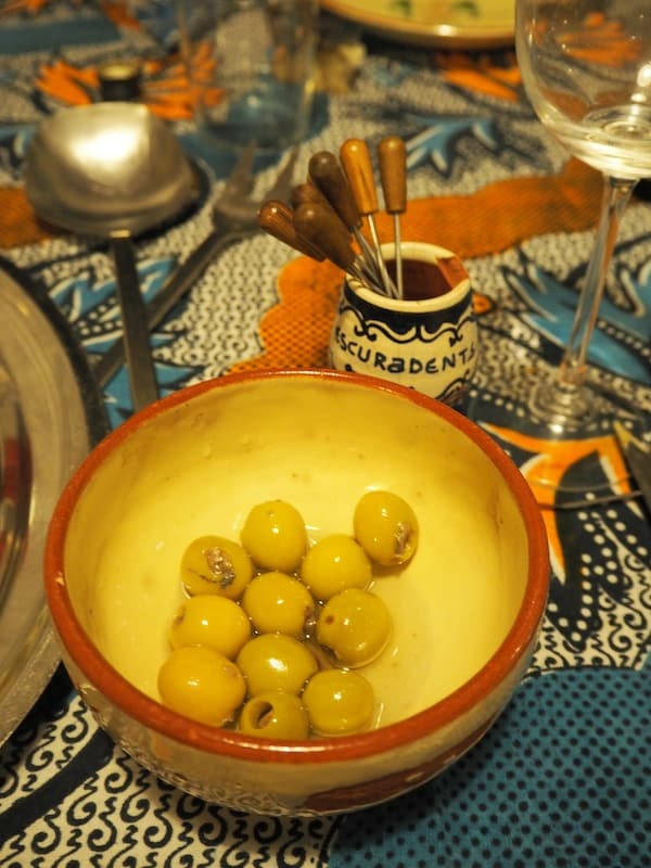"And more so when it's time to taste the local delicacies: Olives filled with ""real"" anchovies - yum !!!"