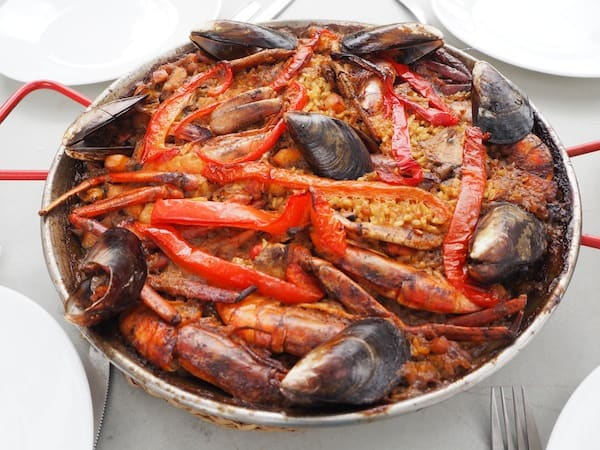"Arroooooos … Love this seafood classic that is served almost everywhere. Be sure to ask for ""Arrós"", not Paella.!"