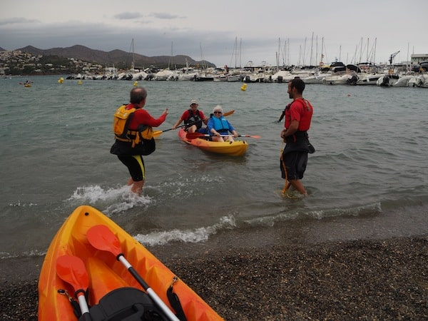 "… the brave kayaking group still entering the waters, but only for a slight tasting. Then, the ""enocaiac"" excursion is called off due to severe weather warnings and transferred to ..."