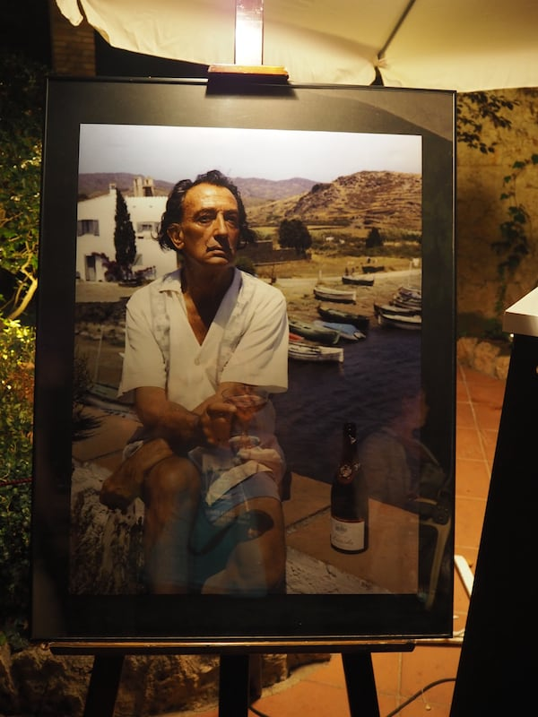 A stoic in the face of Tramuntana winds: Salvador Dalí, whose house in Cadaqués is perched atop one of the most exposed coastal sections of northern Costa Brava - and arguably, one of the most beautiful ones too.