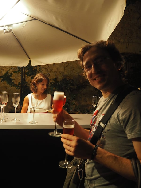 Cava, too, definitely serves as a cultural form of expression here in Catalonia. A visit to the Teatre-Museu de Dalí in Figueres includes a free glass for everyone: Salut!