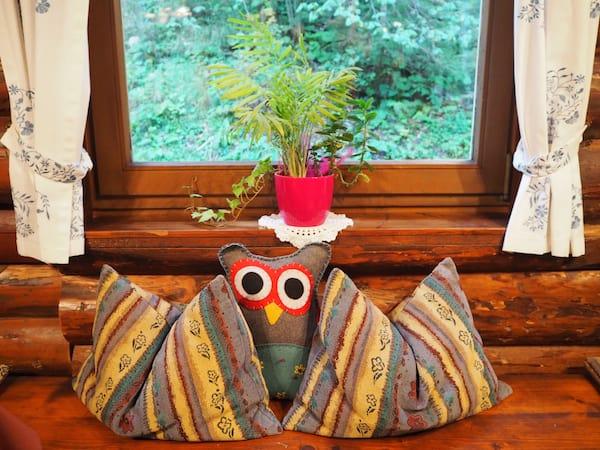Auch der Besuch im Waldhaus bietet Liebe zum Detail ...