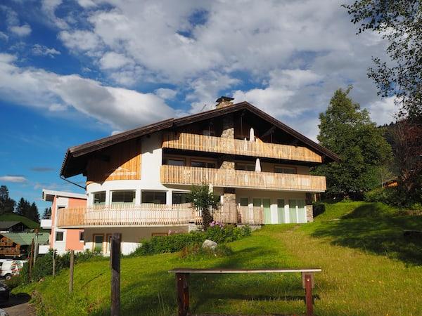 Willkommen im Kleinwalsertal! Das Berghaus Anna Lisa ist unsere erste Wahl ...