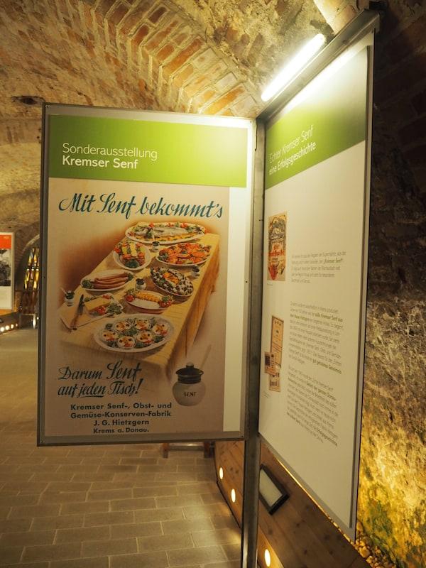 … doch finden wir uns interessanterweise im Weinstadtmuseum gut aufgehoben - zur Kremser Senfverkostung!