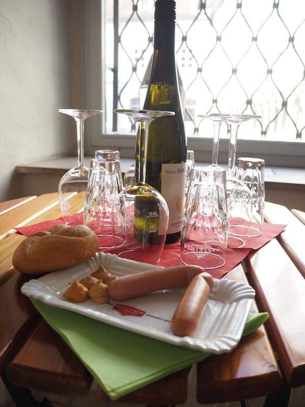 … haben es uns angetan: Mahlzeit bei der kulinarischen Stadtführung durch Krems!