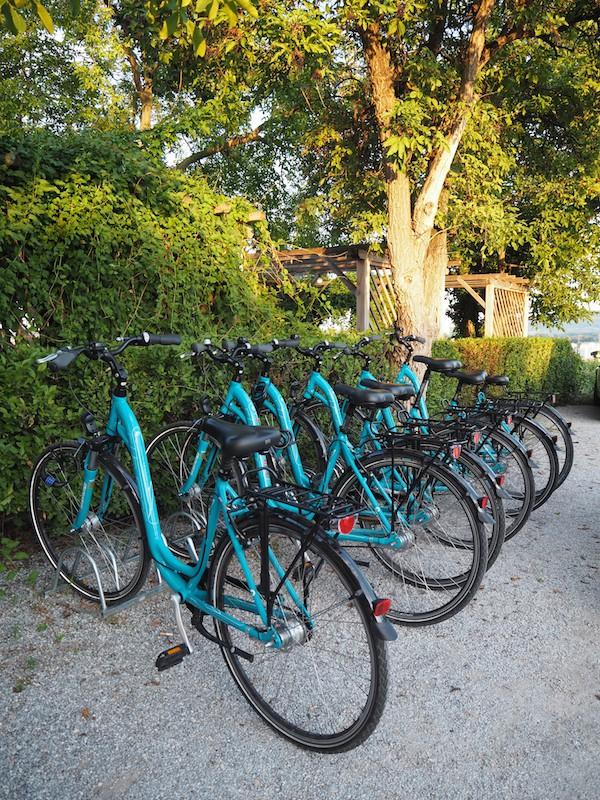 Mit den flotten Wachau-Rädern ist es ein Leichtes, die Stadt Krems sowie ihre Umgebung stilvoll zu erkunden ...