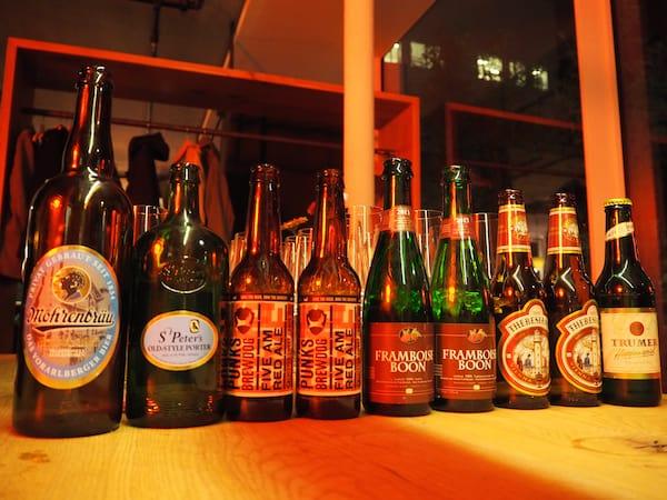 … und schließlich und letztendlich, kann sich unsere Bierselektion zum Bierkulinarium richtig sehen lassen - oder was meint Ihr?