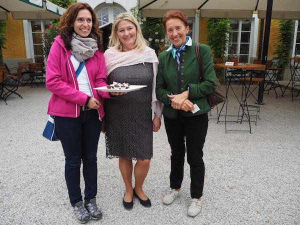 Vielen Dank an die wundervollen Entdeckungen rund um Salzburg, liebe Martina, liebe Maria: Unser Dream-Team vor Ort!