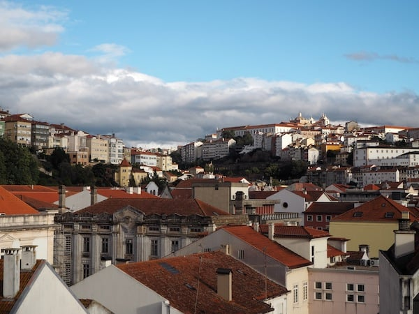 The city of Coimbra …