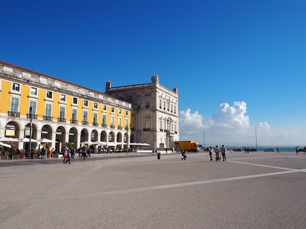 Walking off those calories is best achieved by crossing the city all the way down to Praca do Comércio ...
