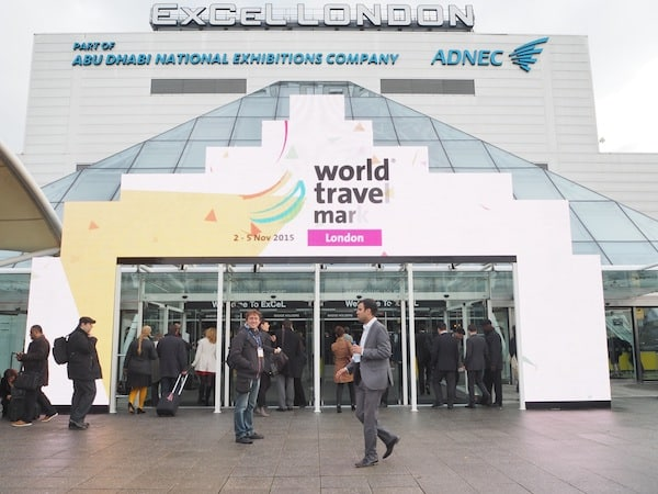 … all the way to London World Travel Market ...