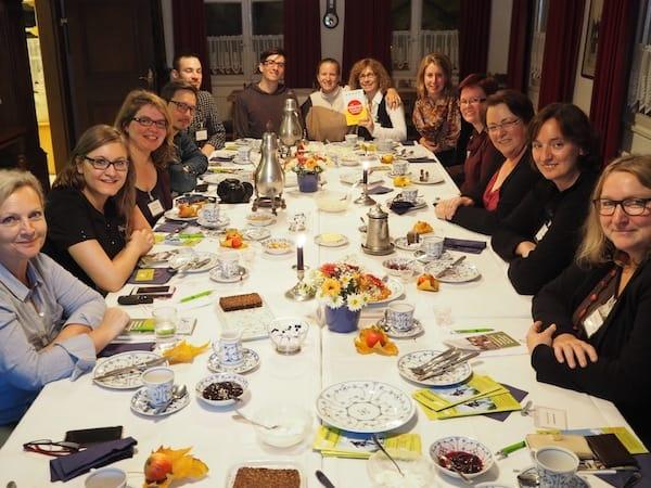 """Hier genießen die """"Blogger des Neanderland"""" unter dem Hashtag #nl4blogger ..."""