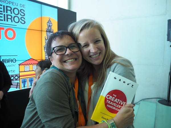 … and of course give as a present to dear Rita, my friend and very professional conference organizer here in Porto.