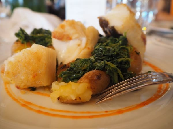 Can't miss the beautiful Bacalhau at Taylor Winery & Restaurant either ...