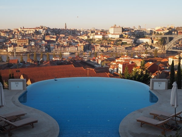 "A place I have yet not had the means to afford, but shall put on the list for ""one day"" is Porto's The Yeatman hotel, boasting one of the most spectacular views across the old town of Porto."