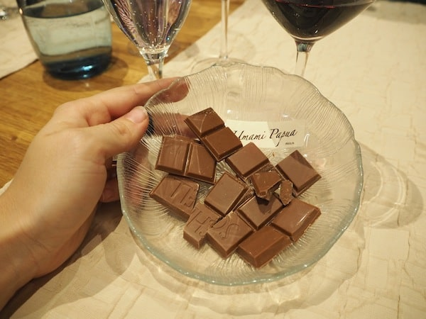 PS. All this wine & chocolate for sure has helped ...