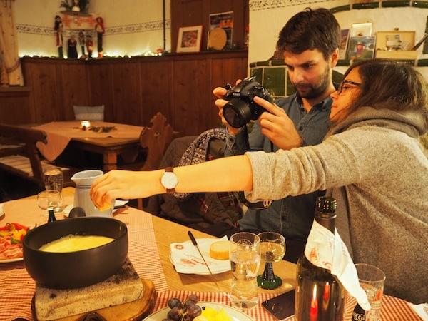 … wie ihre gute Küche besticht: Prost Mahlzeit unter Reisebloggern Kathi & Romeo vom Sommertageblog.