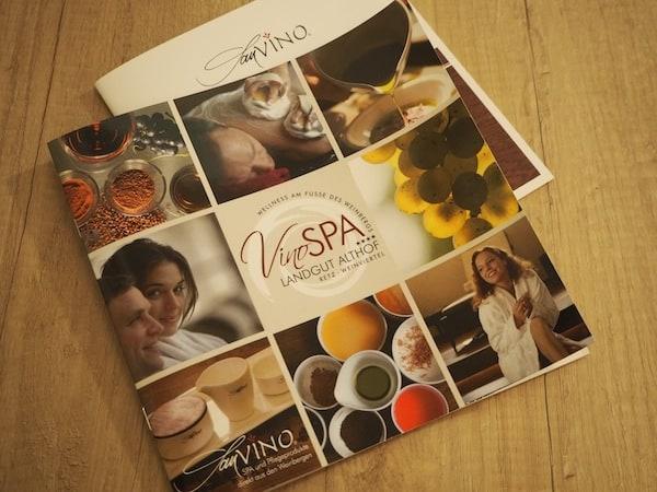 … und werden von Anfang an neugierig auf den neu eröffneten VinoSpa ...