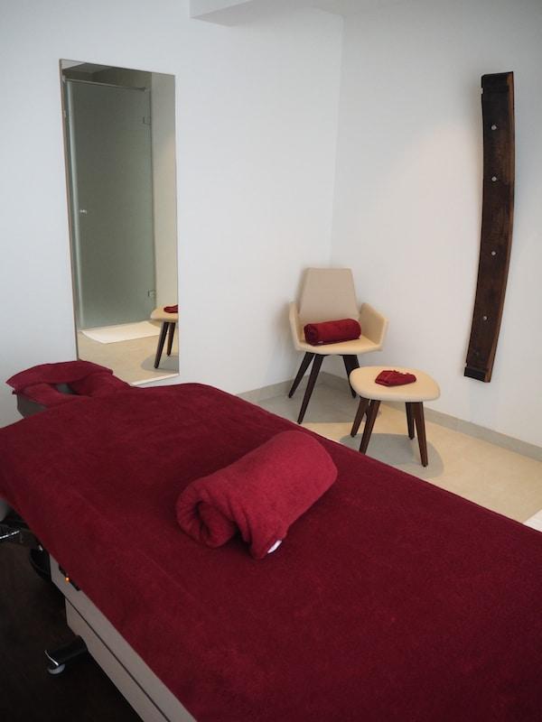 … mir gefällt, dass selbst der Spa- und Massage-Bereich ...