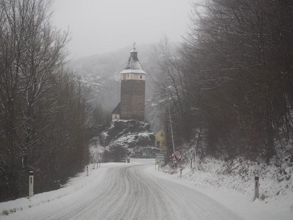 Lohnendes Ausflugsziel vom Hotel Althof Retz aus: Burg & Stadt Hardegg im Weinviertel ...