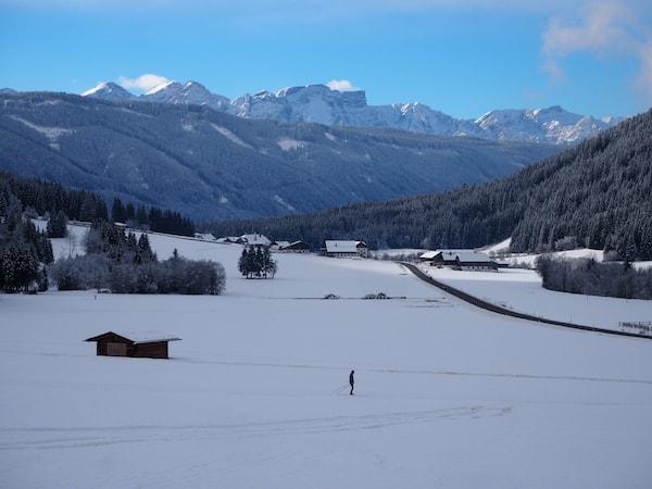 … sowie, fürs Atemholen und Staunen, weite Ausblicke in das Gsiesertal im Südtiroler Land.
