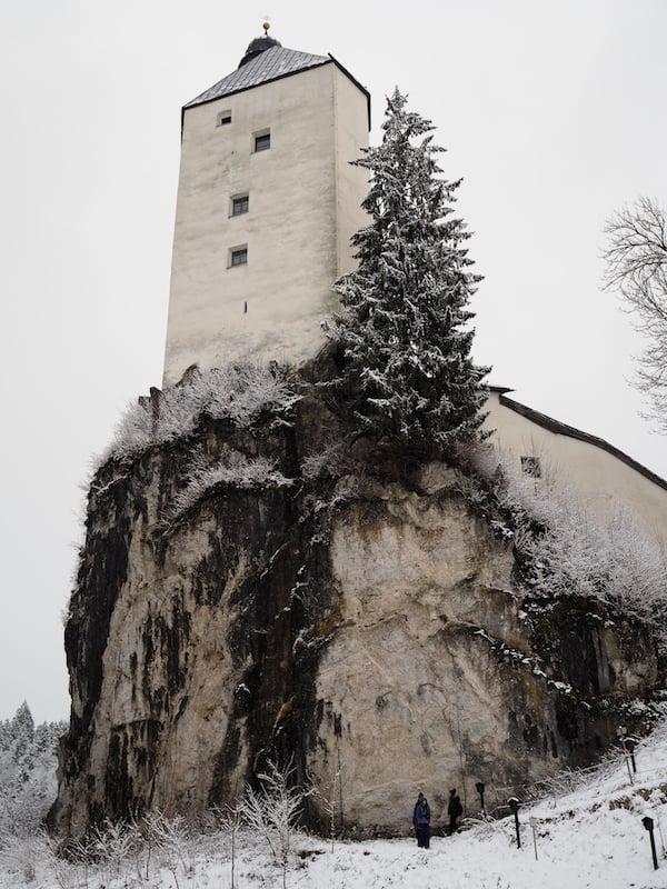Unweit der Huskyranch Angerberg findet sich die berühmten Wallfahrtskirche Mariastein ...