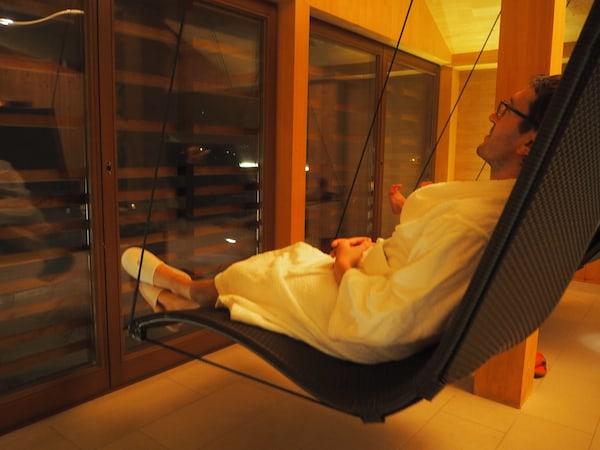 … hier lässt es sich herrlich entspannen ...