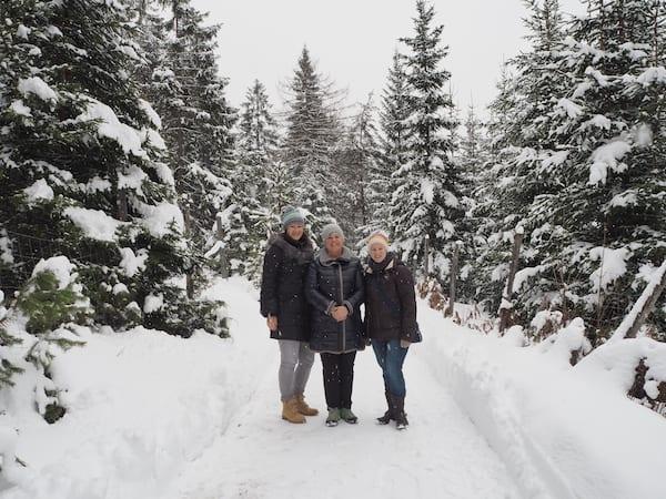… gelebt und weitergetragen: Vielen Dank für den schönen Spaziergang im verschneiten Märchenwald, liebe Elfi!