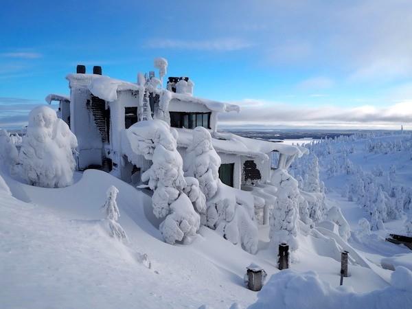 Schöne Aussichten im Winter Wonderland!