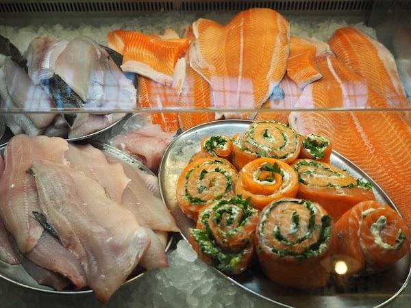 ... bis hin zu köstlichem, frischen Fisch verkosten!