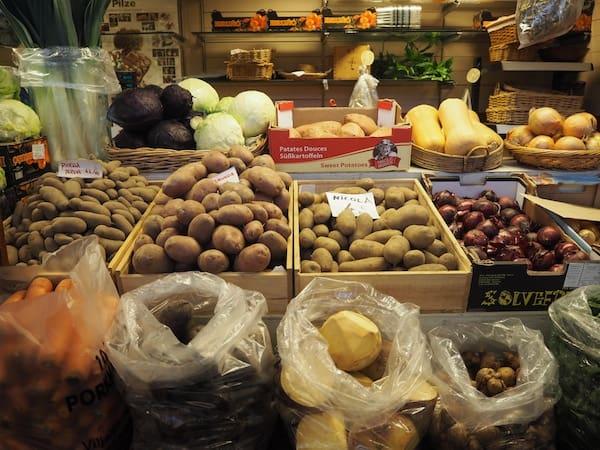 ... denn im Gegensatz zum restlichen Europa sehen lokale Produkte ...