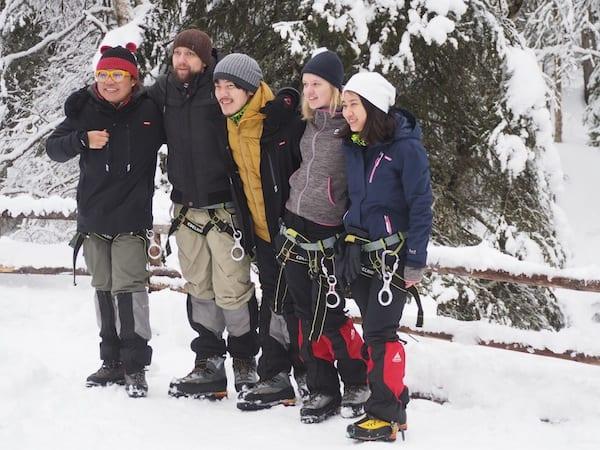 … wie diese fünf sympathischen, jungen Abenteurer: Unter www.polarnightmagic.com könnt Ihr mehr über ihre 100 Tage #PolarNightMagic erfahren!