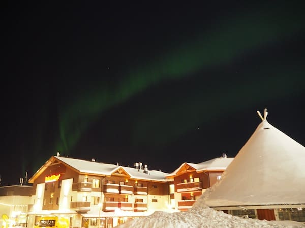 More comfort is offered inside the small town of Ruka, with modern hotels and (tipi-style) chalets, including a chance to watch the Northern Lights!