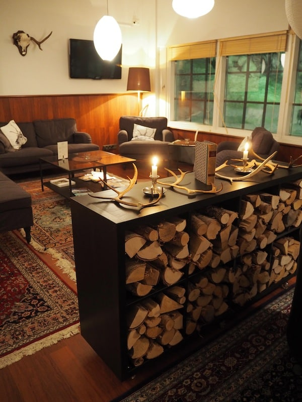 Or how about this cosy loung area, spotted at our Hotel Royal Ruka?