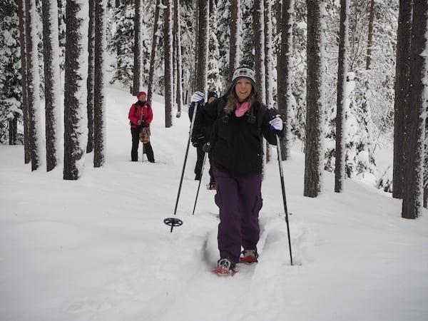 … um fröhlich und gut gerüstet über Lapplands tiefe Schneedecken zu stapfen.