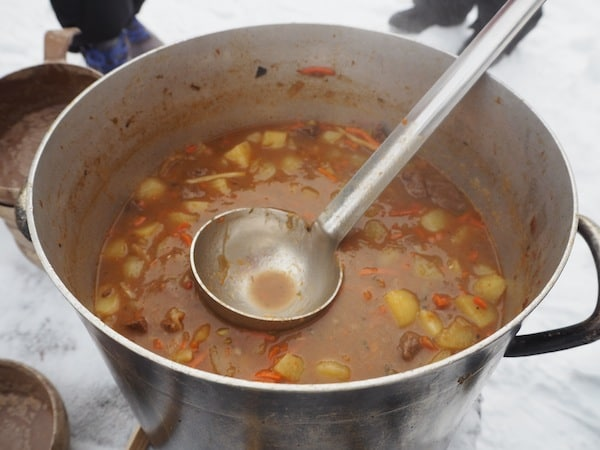 … or how about reindeer soup with carrots …