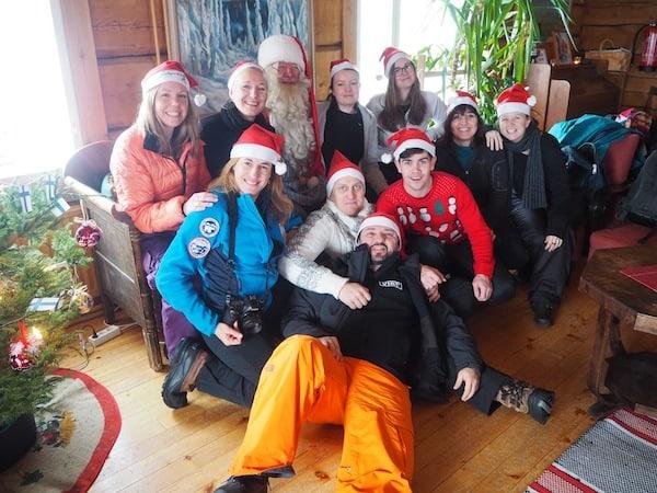 VIELEN DANK an dieser Stelle an meine tolle Truppe, mit der ich Lappland bereisen durfte: Unsere internationalen Journalisten