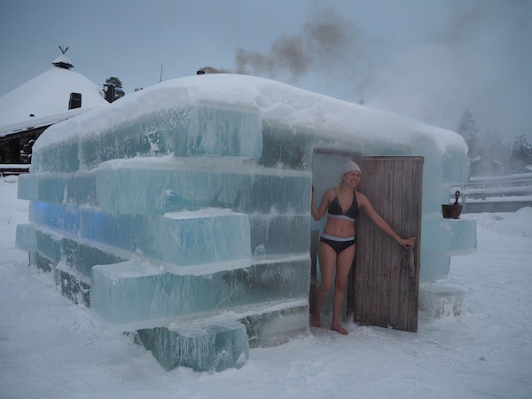 … including a visit to the ice sauna (!) more about this in my next article here …