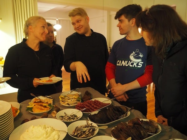 It's Lapland buffet time …